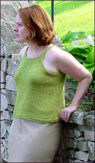 Sigma Tank from Knitty Summer '03